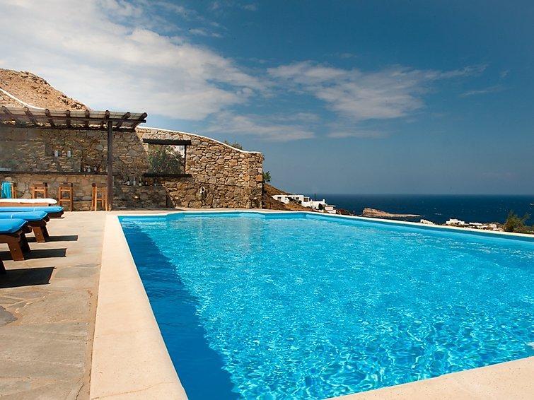 5 bedroom Villa in Agios Sostis, Mykonos, Greece : ref 2253482 - Image 1 - Panormos - rentals