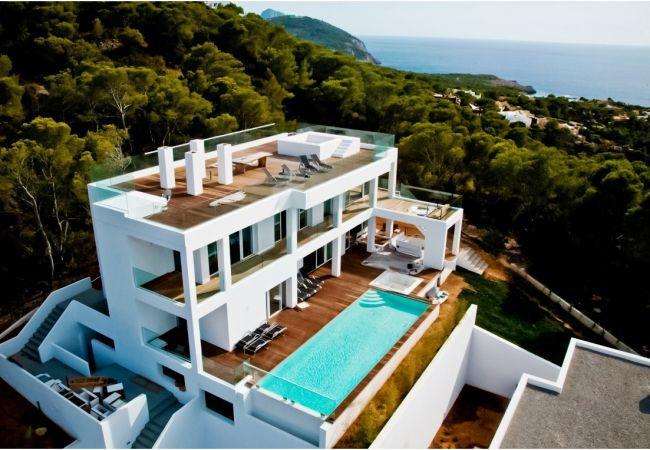 4 bedroom Villa in San Jose, Cala Molí, Ibiza : ref 2259634 - Image 1 - Cala Vadella - rentals