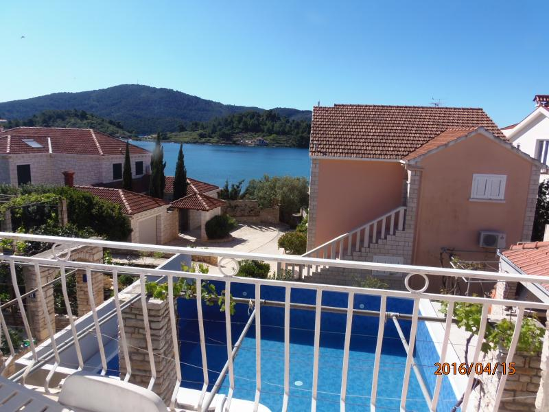 HOLIDAY HOUSE WITH POOL BY THE SEA, VELA LUKA, KOR - Image 1 - Vela Luka - rentals