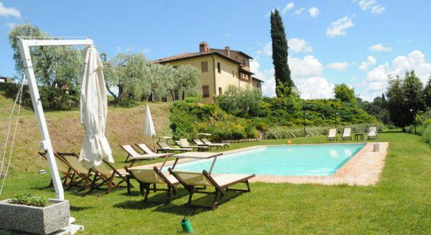 8 bedroom Apartment in Stibbio, Tuscany, Italy : ref 2265930 - Image 1 - Ponte A Egola - rentals