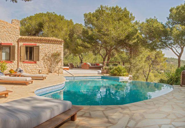9 bedroom Villa in San Jose, Sant Jordi de ses Salines, Ibiza : ref 2265955 - Image 1 - Es Vive - rentals