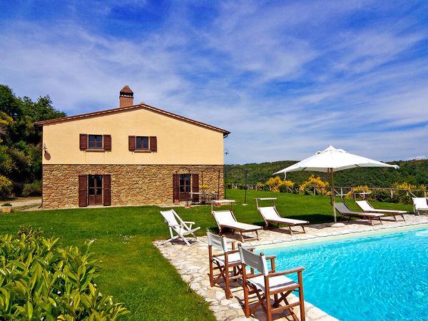 4 bedroom Villa in San Pancrazio, Tuscany, Italy : ref 2269201 - Image 1 - Oliveto - rentals