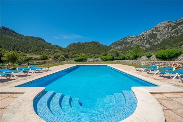 6 bedroom Villa in Bunyola, Mallorca, Mallorca : ref 2271855 - Image 1 - Orient - rentals