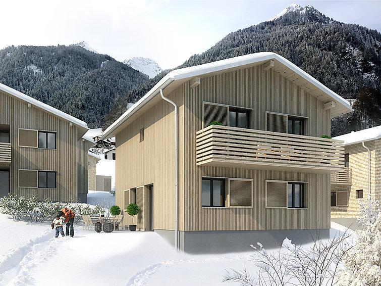 2 bedroom Villa in Sankt Gallenkirch, Montafon, Austria : ref 2284636 - Image 1 - Sankt Gallenkirch - rentals