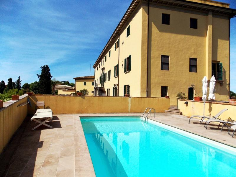 5 bedroom Villa in Montaione, San Gimignano, Volterra And Surroundings, Tuscany, Italy : ref 2293862 - Image 1 - Corazzano - rentals