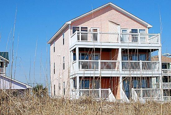 CORAL COTTAGE - Coral Cottage-Gorgeous 3 Bedroom Oceanfront - Carolina Beach - rentals