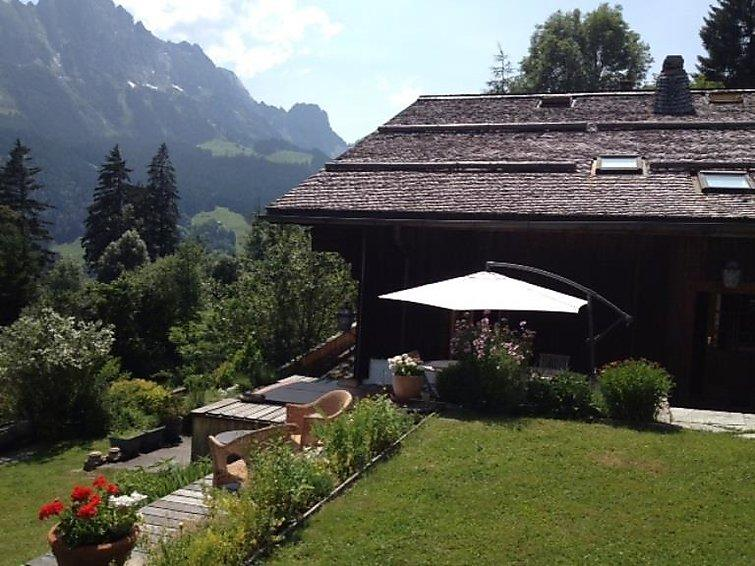 4 bedroom Apartment in Rougemont, Alpes Vaudoises, Switzerland : ref 2296305 - Image 1 - Rougemont - rentals