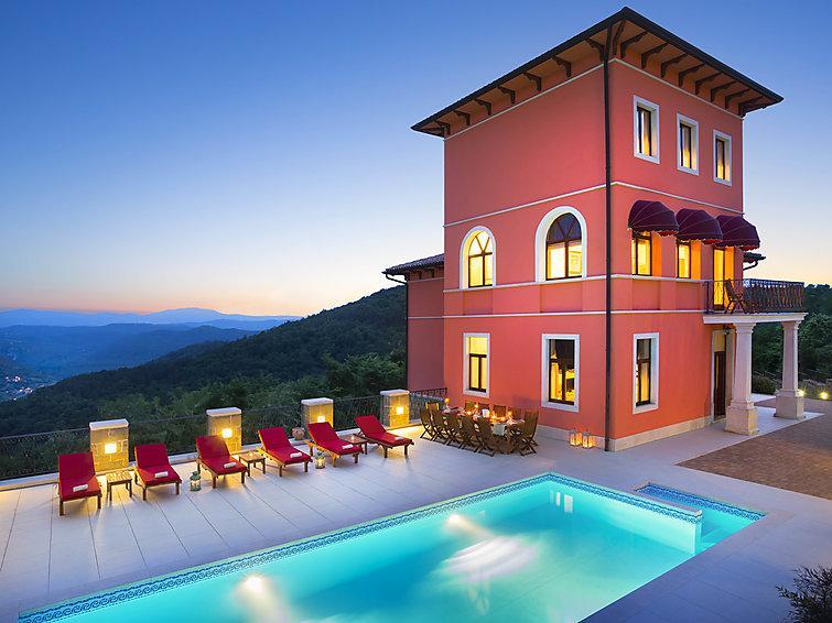 6 bedroom Villa in Oprtalj, Istria, Croatia : ref 2299642 - Image 1 - Oprtalj - rentals