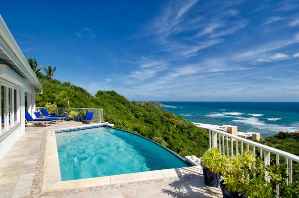 Short Walk to Dawn Beach, Ideal for Couples & Families, Private Infinity Pool - Image 1 - Dawn Beach - rentals