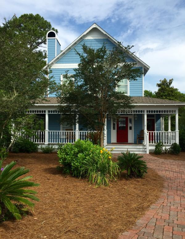 "Front view - ""Shore Beats Work""  Relaxing Seagrove Beach House - Santa Rosa Beach - rentals"