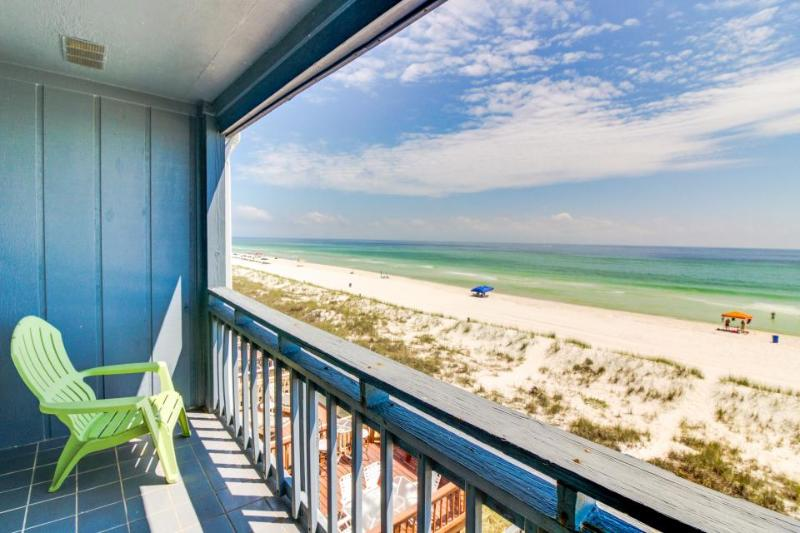 Oceanfront townhome, w/sweeping Gulf views & prime location - Image 1 - Panama City Beach - rentals