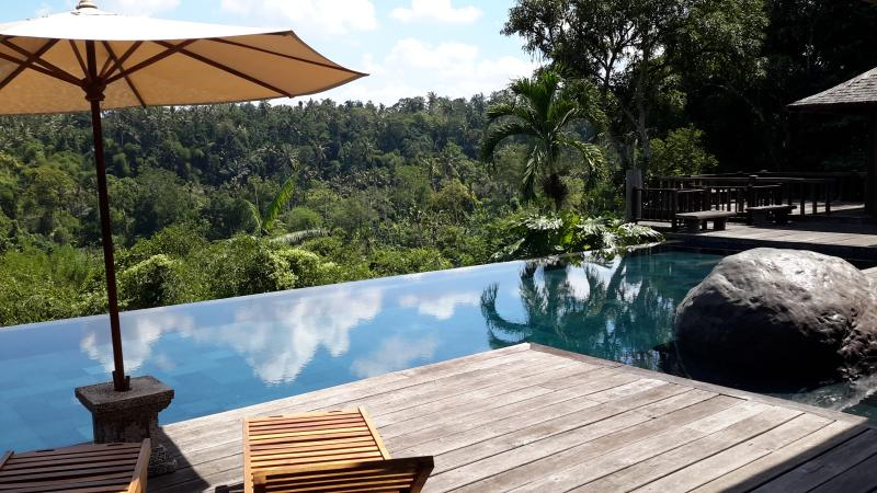 The view from the pool at Villa Kamaniiya - Villa kamaniiya,5 bedrooms Private and luxury - Sayan - rentals