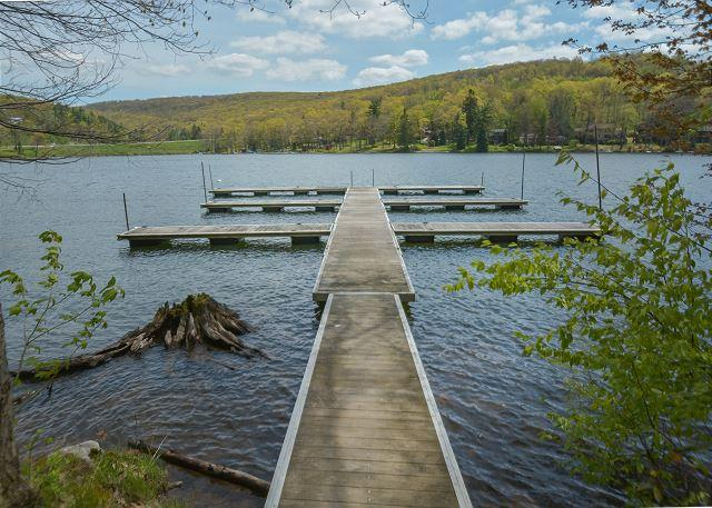 Dock - Extraordinary & Luxurious Mountain Home just minutes away from Wisp Resort! - McHenry - rentals