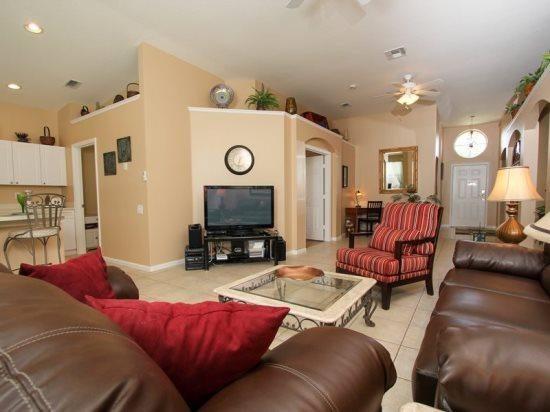 Beautiful 4 Bedroom 3 Bath Windsor Palms Resort Pool Home. 8074KPC - Image 1 - Orlando - rentals