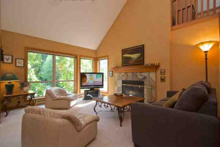 Plenty of natural sunlight - Painted Cliff Townhouse #2 - Whistler - rentals