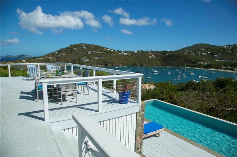 Blue Skies at Great Cruz Bay, St. John - Short Stroll to Beach, Easy Access and - Image 1 - Great Cruz Bay - rentals
