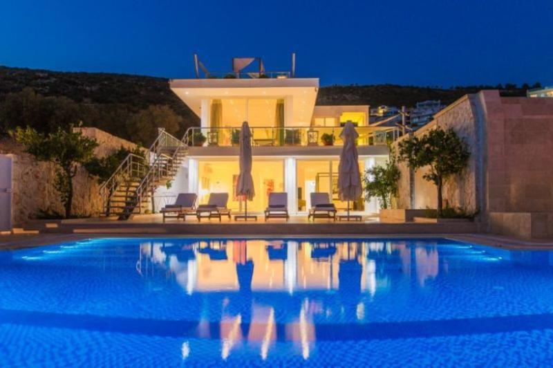 4 bedroom Villa in Kalkan, Mediterranean Coast, Turkey : ref 2022539 - Image 1 - Kalkan - rentals