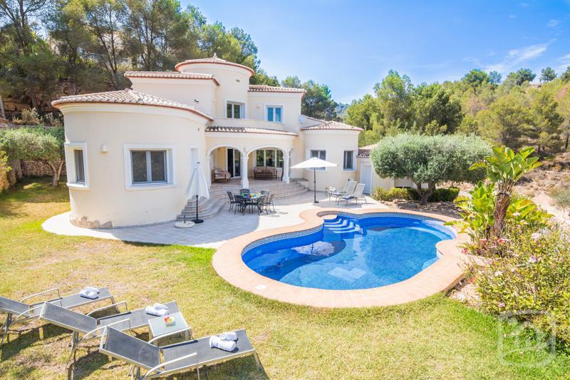 3 bedroom Villa in Benissa, Costa Blanca, Spain : ref 2031778 - Image 1 - La Llobella - rentals