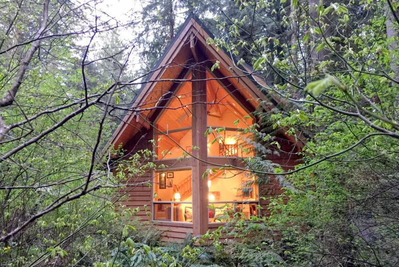 04SL - 04SL Pet Friendly Cedar Cabin with a Private Hot Tub - Glacier - rentals