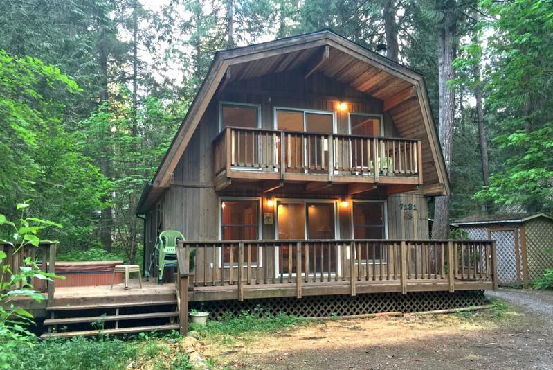 49SL - 49SL Country Cabin near Mt. Baker with a Hot Tub and WiFi - Glacier - rentals