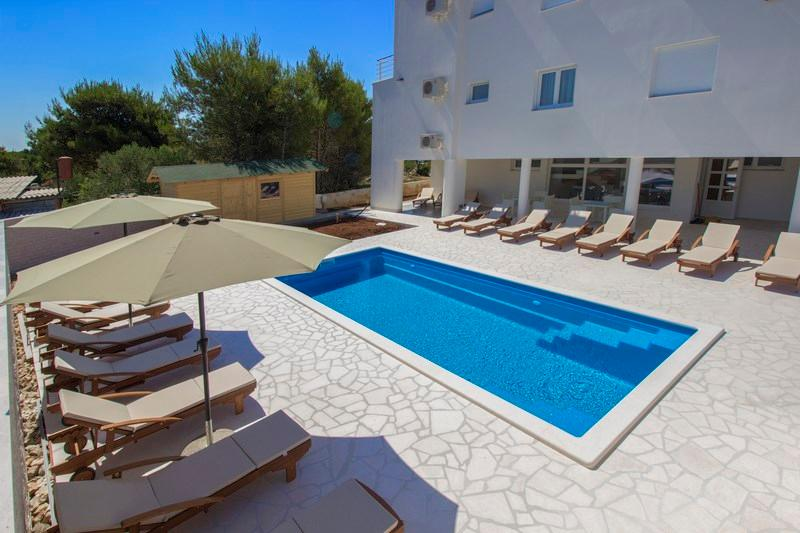 Apartment with pool Vodice - Image 1 - Vodice - rentals