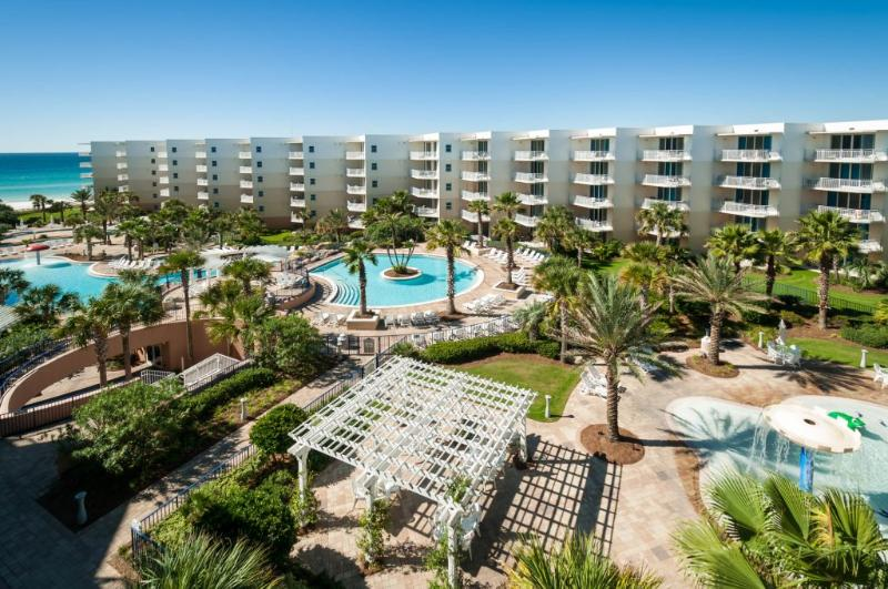 view from our balcony - Waterscape A620. - Fort Walton Beach - rentals