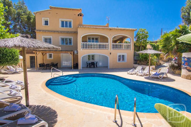 3 bedroom Villa in Calpe, Costa Blanca, Spain : ref 2096076 - Image 1 - La Llobella - rentals