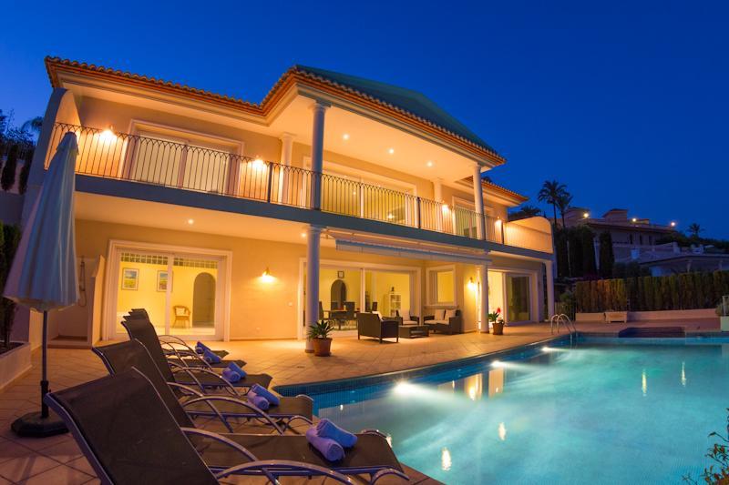 3 bedroom Villa in Moraira, Costa Blanca, Spain : ref 2096077 - Image 1 - La Llobella - rentals