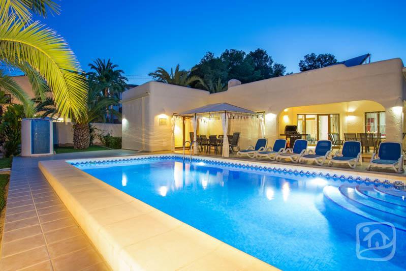 10 bedroom Villa in Moraira, Costa Blanca, Spain : ref 2096084 - Image 1 - La Llobella - rentals