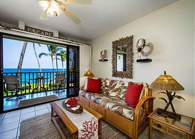 Kona Isle E23 DIRECT OCEAN FRONT, Wifi, 2nd floor, Gorgeous 1/1 - Image 1 - Kailua-Kona - rentals