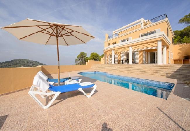 3 bedroom Villa in San Jose, Baleares, Ibiza : ref 2132884 - Image 1 - Cala Vadella - rentals