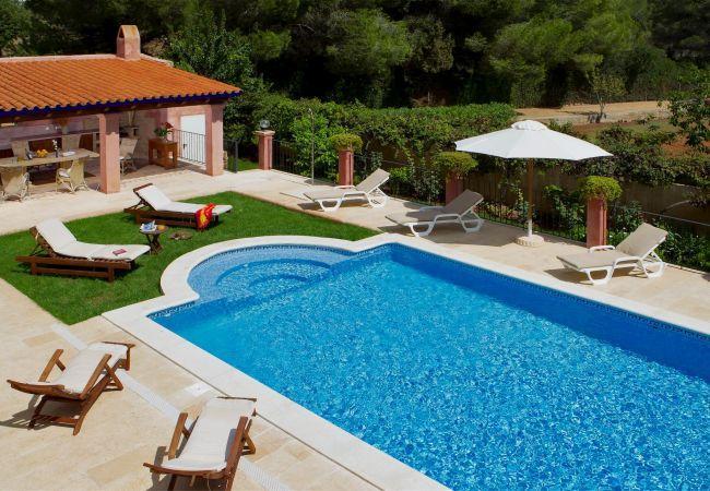 5 bedroom Villa in Santa Eulalia Del Rio, Ibiza, Ibiza : ref 2132931 - Image 1 - Santa Eulalia del Rio - rentals