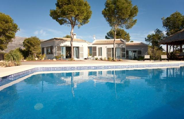 3 bedroom Villa in Altea, Alicante, Costa Blanca, Spain : ref 2135060 - Image 1 - Altea - rentals