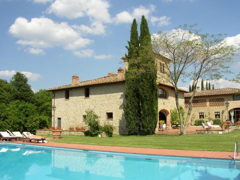 5 bedroom Villa in San Casciano Val di Pesa, Chianti, Tuscany, Italy : ref 2135334 - Image 1 - Cerbaia - rentals