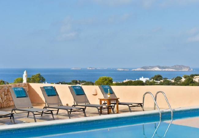 4 bedroom Villa in San Jose, Cala Vadella, Ibiza, Ibiza : ref 2197902 - Image 1 - San Jose - rentals