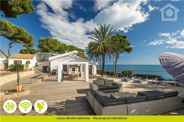 5 bedroom Villa in Moraira, Costa Blanca, Spain : ref 2208588 - Image 1 - La Llobella - rentals