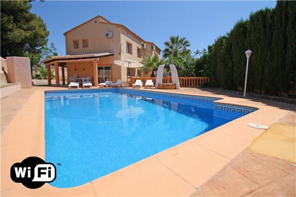 5 bedroom Villa in Calpe, Costa Blanca, Spain : ref 2211045 - Image 1 - Calpe - rentals