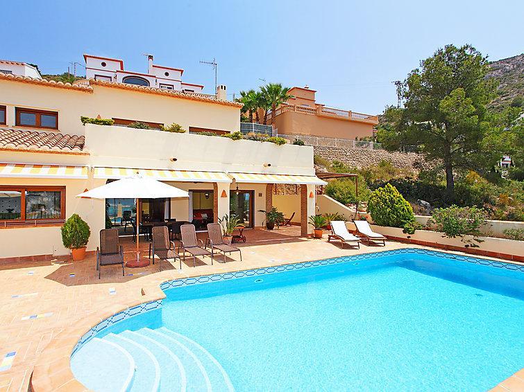 4 bedroom Villa in Moraira, Costa Blanca, Spain : ref 2214160 - Image 1 - La Llobella - rentals
