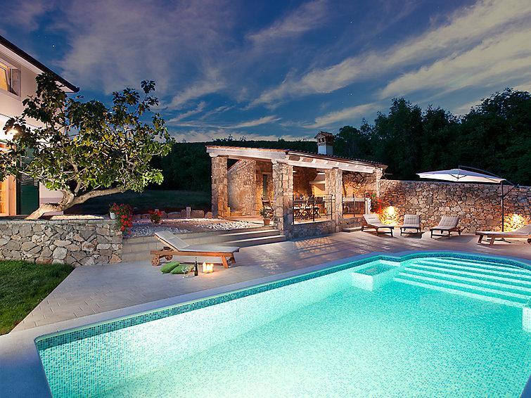 5 bedroom Villa in Rabac Sveti Lovrec Labinski, Istria, Croatia : ref 2215041 - Image 1 - Viskovici - rentals