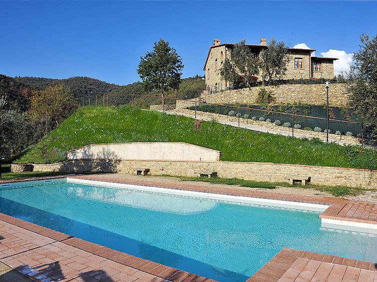 6 bedroom Villa in Castiglion Fiorentino, Cortona, Italy : ref 2215363 - Image 1 - Pieve di Chio - rentals