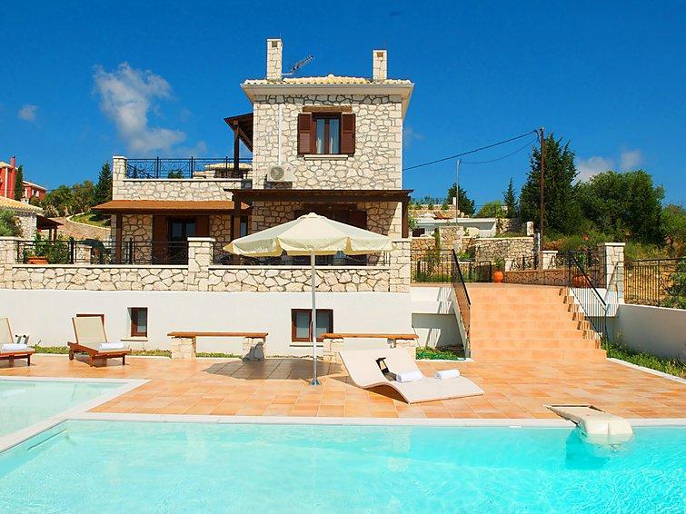 2 bedroom Villa in Lefkada, Greece : ref 2216724 - Image 1 - Katouna - rentals