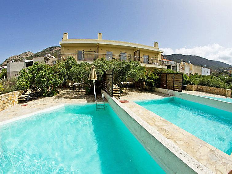 2 bedroom Villa in Istron, Agios Nikolaos, Crete, Greece : ref 2217155 - Image 1 - Istron - rentals
