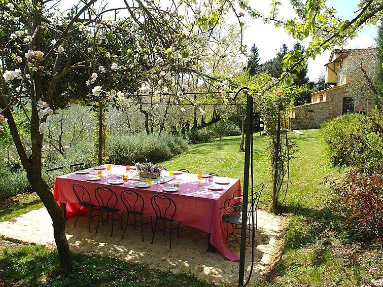 6 bedroom Villa in San Casciano Val di Pesa, Chianti Classico, Italy : ref - Image 1 - Sant'Andrea in Percussina - rentals