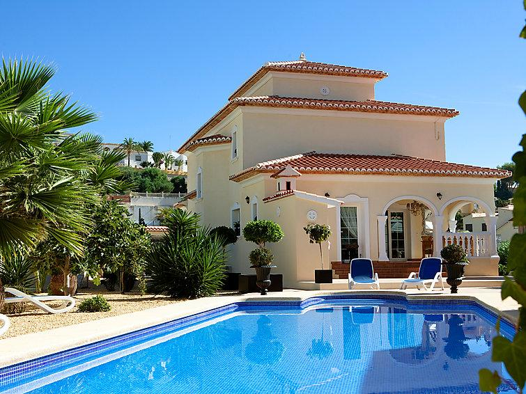 4 bedroom Villa in Calpe, Costa Blanca, Spain : ref 2217488 - Image 1 - Calpe - rentals