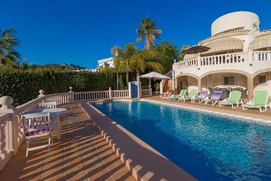 3 bedroom Villa in Moraira, Costa Blanca, Moraira, Spain : ref 2234763 - Image 1 - La Llobella - rentals