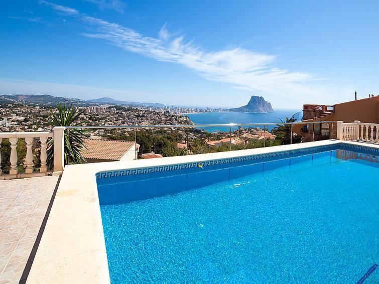 5 bedroom Villa in Calpe Calp, Costa Blanca, Spain : ref 2235435 - Image 1 - Calpe - rentals