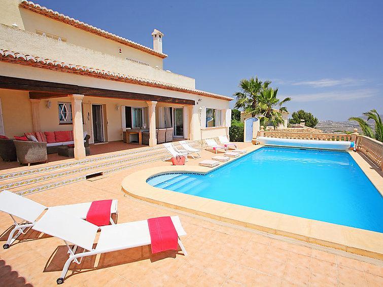 4 bedroom Villa in Moraira, Costa Blanca, Spain : ref 2235478 - Image 1 - La Llobella - rentals