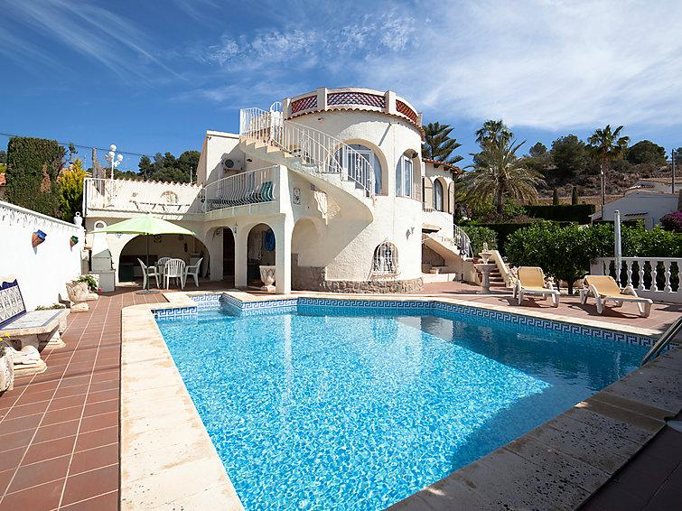 4 bedroom Villa in Calpe Calp, Costa Blanca, Spain : ref 2236419 - Image 1 - Calpe - rentals