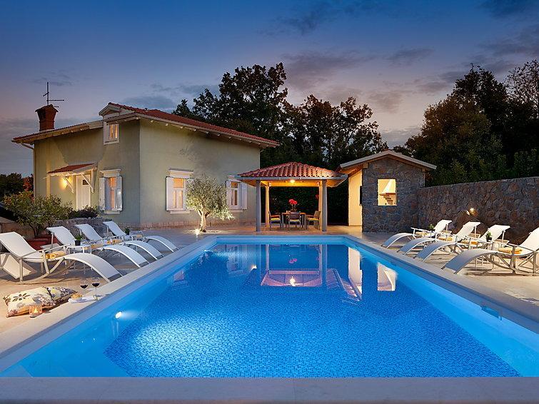 4 bedroom Villa in Lovran, Kvarner, Croatia : ref 2237142 - Image 1 - Ika - rentals