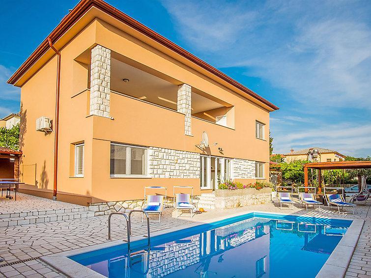 4 bedroom Villa in Novi Vinodolski, Kvarner, Croatia : ref 2242915 - Image 1 - Novi Vinodolski - rentals